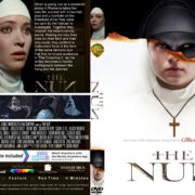 The Nun (2018) R1 CUSTOM DVD Cover & Label