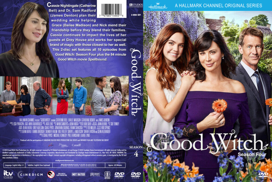 Good Witch - Season 4 (2018) R1 Custom DVD Cover & Labels - DVDcover Com