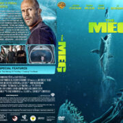 The Meg (2018) R1 Custom DVD Cover & Label V2