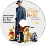 Christopher Robin (2018) CUSTOM DVD Label
