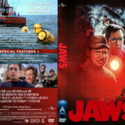 Jaws (2000) R1 Custom DVD Cover & Label