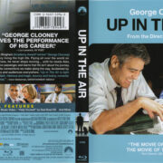 Up In The Air (2009) R1 Blu-Ray Cover & Label
