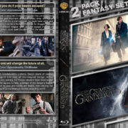Fantastic Beasts and Where to Find Them Double Feature (2016-2018) R1 Custom Blu-Ray Cover