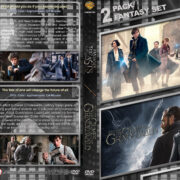 Fantastic Beasts and Where to Find Them Double Feature (2016-2018) R1 Custom DVD Cover