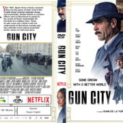 Gun City (2018) R2 CUSTOM DVD Cover & Label