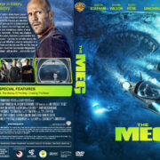 The Meg (2018) R1 Custom DVD Cover & Label V3