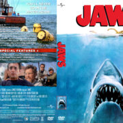 Jaws (1975) R1 Custom DVD Cover