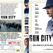 Gun City (2018) R2 CUSTOM Blu-Ray Cover & Label