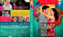 Crazy Rich Asians (2018) R1 Custom DVD Cover