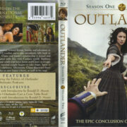 Outlander: Season One, Volume Two (2015) R1 Blu-Ray Cover & Labels