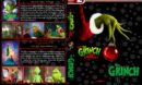 The Grinch Double Feature (2000-2018) R1 Custom DVD Cover & Labels