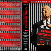 Alfred Hitchcock: Master of Suspense – Set 1 (1925-1928) R1 Custom DVD Covers