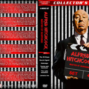Alfred Hitchcock: Master of Suspense – Set 4 (1935-1939) R1 Custom DVD Covers