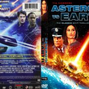 Asteroid Vs Earth (2014) R1 DVD Cover & Label