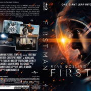 First Man (2018) R1 Custom Blu-Ray Cover & Label