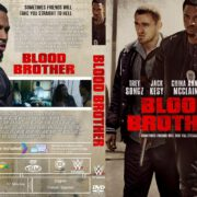 Blood Brother (2018) R1 Custom DVD Cover & Label
