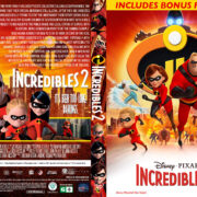 Incredibles 2 (2018) R1 Custom DVD Cover