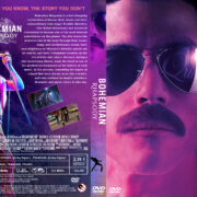 Bohemian Rhapsody (2018) R0 Custom DVD Cover & Label