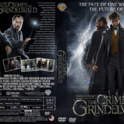 Fantastic Beasts: The Crimes of Grindelwald (2018) R0 Custom DVD Cover & Label