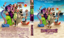 Hotel Transylvania 3: Summer Vacation (2018) R0 Custom DVD Cover & Label