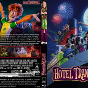 Hotel Transylvania 3: Summer Vacation (2018) R0 Custom Blu-Ray Cover & Label
