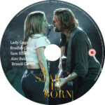 A Star is Born (2018) R2 CUSTOM DVD Label