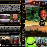 Baraka / Samsara Double Feature (1992-2011) R1 Custom DVD Cover