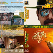 Super Troopers Double Feature (2001-2018) R1 Custom Blu-Ray Cover