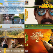 Super Troopers Double Feature (2001-2018) R1 Custom DVD Cover