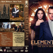 Elementary – Season 6 (2018) R1 Custom DVD Cover & Labels