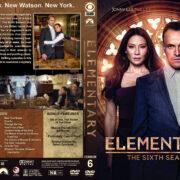 Elementary – Season 6 (2018) R1 Custom DVD Cover & Labels