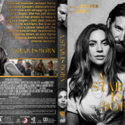 A Star Is Born (2018) R1 Custom DVD Cover & Label