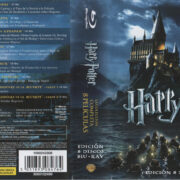 Harry Potter Coleccion Completa (2011) R2 Spanish Blu-Ray Cover