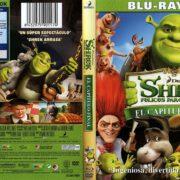 Shrek 4 Shrek Felices Para Siempre (2010) R2 Spanish Blu-Ray Cover