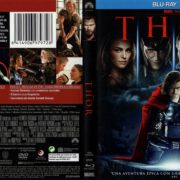 Thor (2011) R2 Spanish Blu-Ray Cover & Label