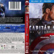 Capitan America El Primer Vengador 3D Edicion Limitada (2011) R2 Spanish Blu-Ray Cover