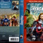 Los Vengadores 3D (2012) R2 Spanish Blu-Ray Cover