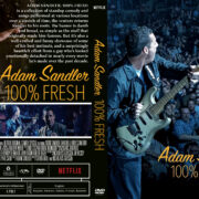 Adam Sandler: 100% Fresh (2018) R1 Custom DVD Cover