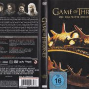 Game of Thrones (Season 2 – 2012) R2 German DVD Cover & Labels