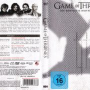Game of Thrones (Season 3 – 2013) R2 German DVD Cover & Labels