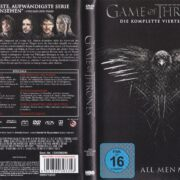 Game of Thrones (Season 4 – 2014) R2 German DVD Cover & Labels