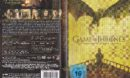 Game of Thrones (Season 5 - 2015) R2 German DVD Cover & Labels