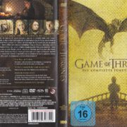 Game of Thrones (Season 5 – 2015) R2 German DVD Cover & Labels