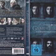 Game of Thrones (Season 6 – 2016) R2 German DVD Cover & Labels