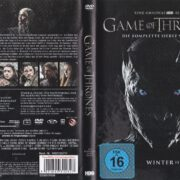 Game of Thrones (Season 7 – 2017) R2 German DVD Cover & Labels