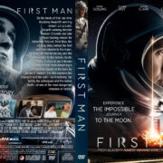 First Man (2018) R1 Custom DVD Cover