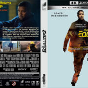 The Equalizer 2 (2018) R1 4K UHD Cover