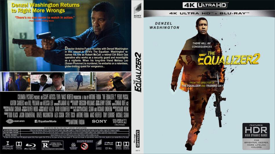 The Equalizer 2 2018 R1 4k Uhd Cover Dvdcover Com