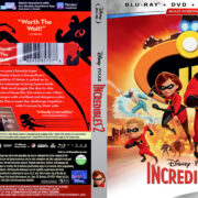Incredibles 2 (2018) R1 Blu-Ray Cover