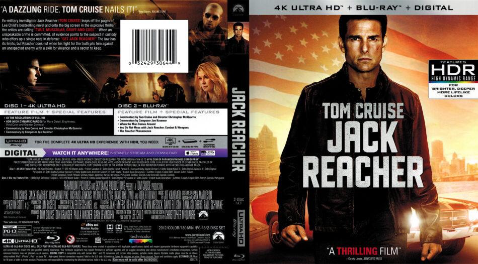 Jack Reacher 2012 R1 4k Uhd Cover Dvdcover Com